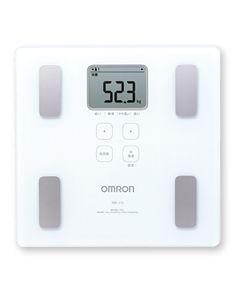 オムロン 体重体組成計 【HBF-214-W】 ホワイト 【送料無料】