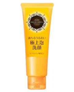 資生堂 アクアレーベル 豊潤泡洗顔フォーム (110g)