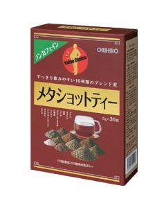 オリヒロ ノンカフェイン 10種類のブレンド茶 メタショットティー (5g×30包) ※軽減税率対象商品