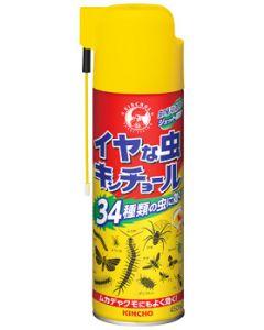 【☆】 金鳥 KINCHO キンチョウ イヤな虫キンチョール (450mL) 殺虫剤 殺虫スプレー 34種類の虫に効く