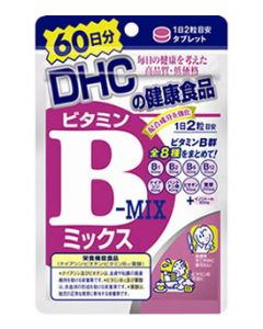 DHC DHCの健康食品 ビタミンBミックス 60日分 (120粒) ※軽減税率対象商品