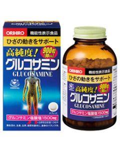 オリヒロ 高純度 グルコサミン粒 90日分 (900粒) 機能性表示食品 ※軽減税率対象商品