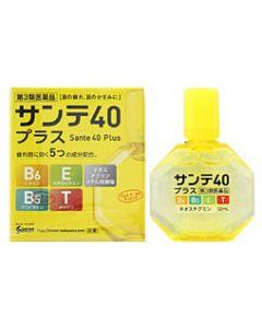 【第3類医薬品】参天製薬 サンテ40 プラス 目薬 (12ml)