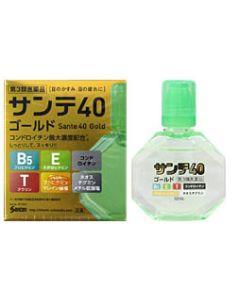 【第3類医薬品】参天製薬 サンテ40 ゴールド 目薬 (12ml)
