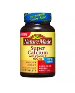 大塚製薬 ネイチャーメイド スーパーカルシウム カルシウム+ビタミンD (120粒) ※軽減税率対象商品