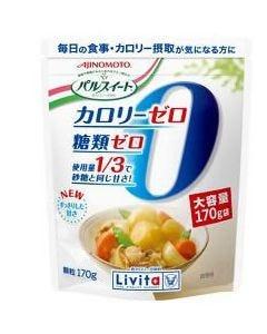 味の素 大正製薬 リビタ パルスイート カロリーゼロ 低カロリー甘味料 顆粒 (170g) ※軽減税率対象商品