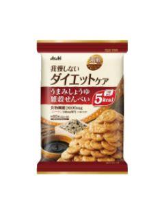 アサヒ リセットボディ 我慢しないダイエットケア うまみしょうゆ 雑穀せんべい (22g×4袋) ※軽減税率対象商品