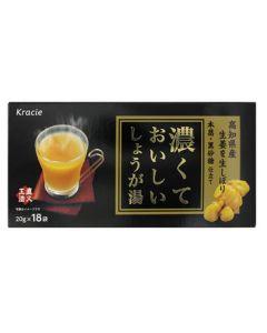 クラシエ薬品 濃くておいしい しょうが湯 (20g×18袋入) ※軽減税率対象商品