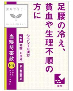 【第2類医薬品】クラシエ薬品 クラシエ 当帰芍薬散錠 (96錠) トウキシャクヤクサン