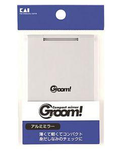 貝印 Groom! アルミミラー HC-1125