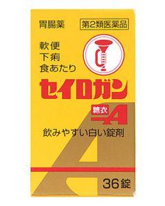 【第2類医薬品】大幸薬品 セイロガン糖衣A (36錠)