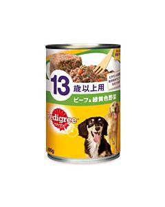 マースジャパン ペディグリー 13歳以上用 ビーフ&緑黄色野菜 P131 (400g)