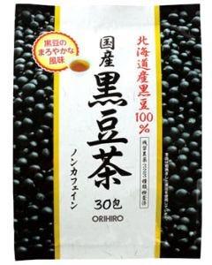 オリヒロ 国産 黒豆茶 ノンカフェイン (30包) 北海道産黒豆100% ※軽減税率対象商品