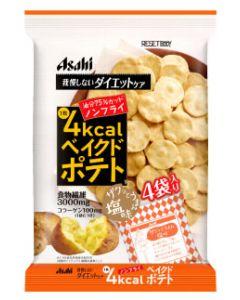 アサヒ リセットボディ ベイクドポテト (16.5g×4袋) ノンフライ ※軽減税率対象商品
