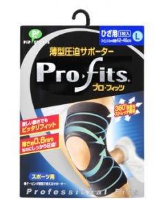 ピップ スポーツ 薄型圧迫サポーター プロ・フィッツ ひざ用 Lサイズ (1枚入)