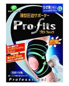 ピップ スポーツ 薄型圧迫サポーター プロ・フィッツ ひざ用 LLサイズ (1枚入)