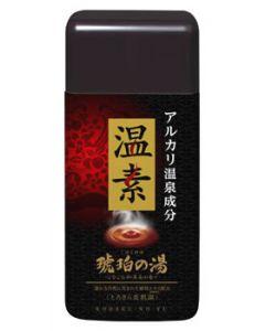 アース製薬 温素 琥珀の湯 とろさら美肌湯 約15回分 (600g) 【医薬部外品】