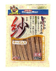 【特売セール】 ドギーマン 紗 さや チーズ入り ドッグフード 全犬種用スナック (170g)