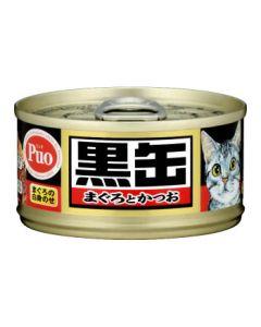 アイシア 黒缶 ミニ まぐろとかつお (80g) 総合栄養食 キャットフード