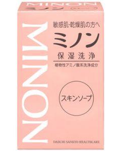 第一三共ヘルスケア ミノン 保湿洗浄 スキンソープ (80g)