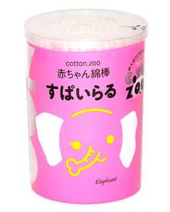 平和メディク コットン・ZOO 赤ちゃん綿棒 すぱいらる (160本)