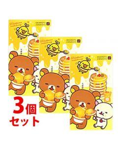 《セット販売》 オカモト リラックマ コンドーム ほっとゼリー (10コ入)×3個セット