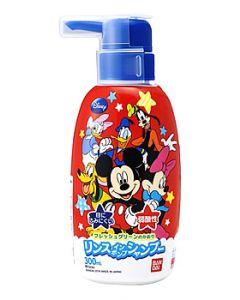 バンダイ リンスイン ポンプシャンプー ミッキーマウス (300mL) 子供用 リンスインシャンプー ディズニー ミッキー