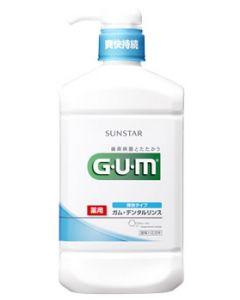 サンスター GUM ガム 薬用 デンタルリンス 爽快タイプ (960mL) 洗口液 【医薬部外品】