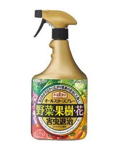 アース製薬 アースガーデン オールスタースプレー (1000mL) 野菜・果樹・花の害虫退治 園芸用殺虫剤