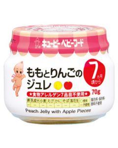 キューピー ベビーフード ももとりんごのジュレ A-73 7ヶ月頃から (70g) ※軽減税率対象商品