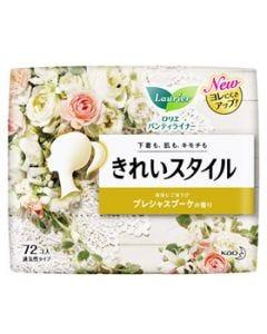 花王 ロリエ きれいスタイル プレシャスブーケの香り (72コ入) パンティライナー