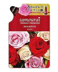 SPR サムライウーマン プレミアム シャンプー ローズアロマティックの香り つめかえ用 (370mL) 詰め替え用