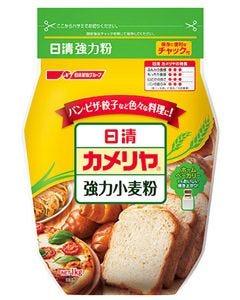 日清製粉 日清 カメリヤ チャック付 (1kg) 強力小麦粉 強力粉 ※軽減税率対象商品