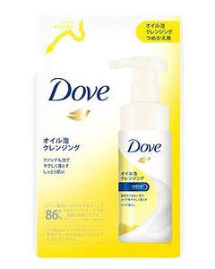 ユニリーバ Dove ダヴ オイル泡 クレンジング つめかえ用 (130mL) 詰め替え用 泡洗顔料