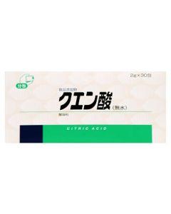 健栄製薬 クエン酸 無水 (2g×30包) 酸味料 ※軽減税率対象商品