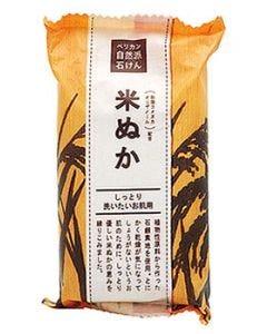 ペリカン石鹸 ペリカン自然派石けん 米ぬか (100g) 石鹸