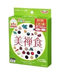 ドクターシーラボ 美禅食 びぜんしょく ゴマきな粉味 (15.4g×6包) ダイエット食品 ※軽減税率対象商品
