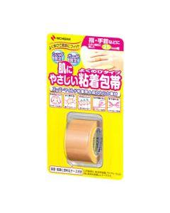 ニチバン 肌にやさしい 粘着包帯 よくのびタイプ NHB25 幅25mm (1個)