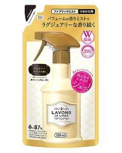 ラボン ルランジェ ラ・ボン ファブリックミスト シャイニームーンの香り つめかえ用 (320mL) 詰め替え用 衣類・布製品用