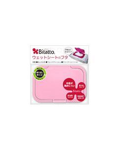 テクセルジャパン Bitatto ビタット ウェットシートのフタ ピンク (1個) おしりふきケース ベビー用品
