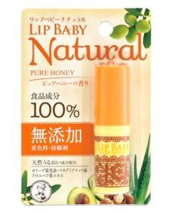 ロート製薬 メンソレータム リップベビー ナチュラル ピュアハニーの香り (4g) リップクリーム