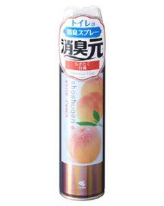 【特売セール】 小林製薬 消臭元 トイレ用 消臭スプレー もぎたて白桃 (280mL) 消臭・芳香剤