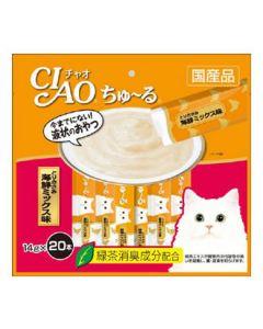 【特売セール】 いなばペットフード CIAO チャオ ちゅ~る とりささみ海鮮ミックス味 (20本)