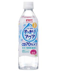 【特売セール】 ピジョン ベビー飲料 イオン飲料 すっきりアクア もも (500mL) 3ヶ月頃から ※軽減税率対象商品