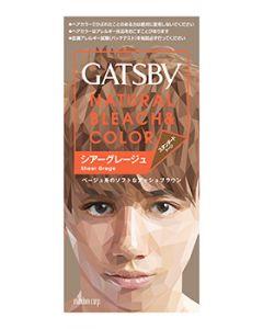 マンダム ギャツビー GATSBY ナチュラルブリーチカラー シアーグレージュ (1個) 黒髪用ヘアカラー 【医薬部外品】