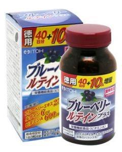 井藤漢方 ブルーベリールテインプラス 徳用 (132粒) 栄養機能食品 ※軽減税率対象商品