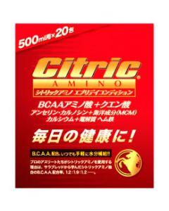 メダリスト・ジャパン シトリックアミノ エブリデイコンディション (6g×20包入) BCAAアミノ酸 クエン酸 ※軽減税率対象商品