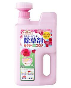 アース製薬 アースガーデン みんなにやさしい除草剤 おうちの草コロリ ジョウロヘッド ふんわりローズの香り (2L)