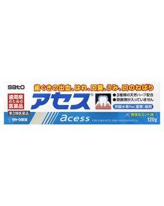 【第3類医薬品】佐藤製薬 アセス (120g) 歯ぐきの出血 はれ 口臭 うみ 口のねばり