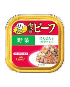 日本ペットフード ビタワン グー 極旨ビーフ 野菜 (100g) ドッグフード ウェット